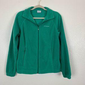 Columbia Green Benton Spring Soft Fleece Jacket